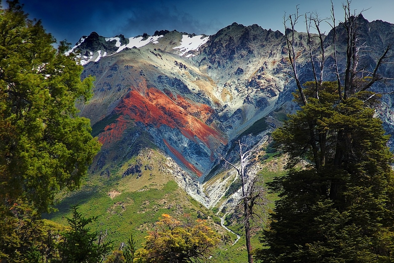Argentine Patagonia in the Andes Mountains
