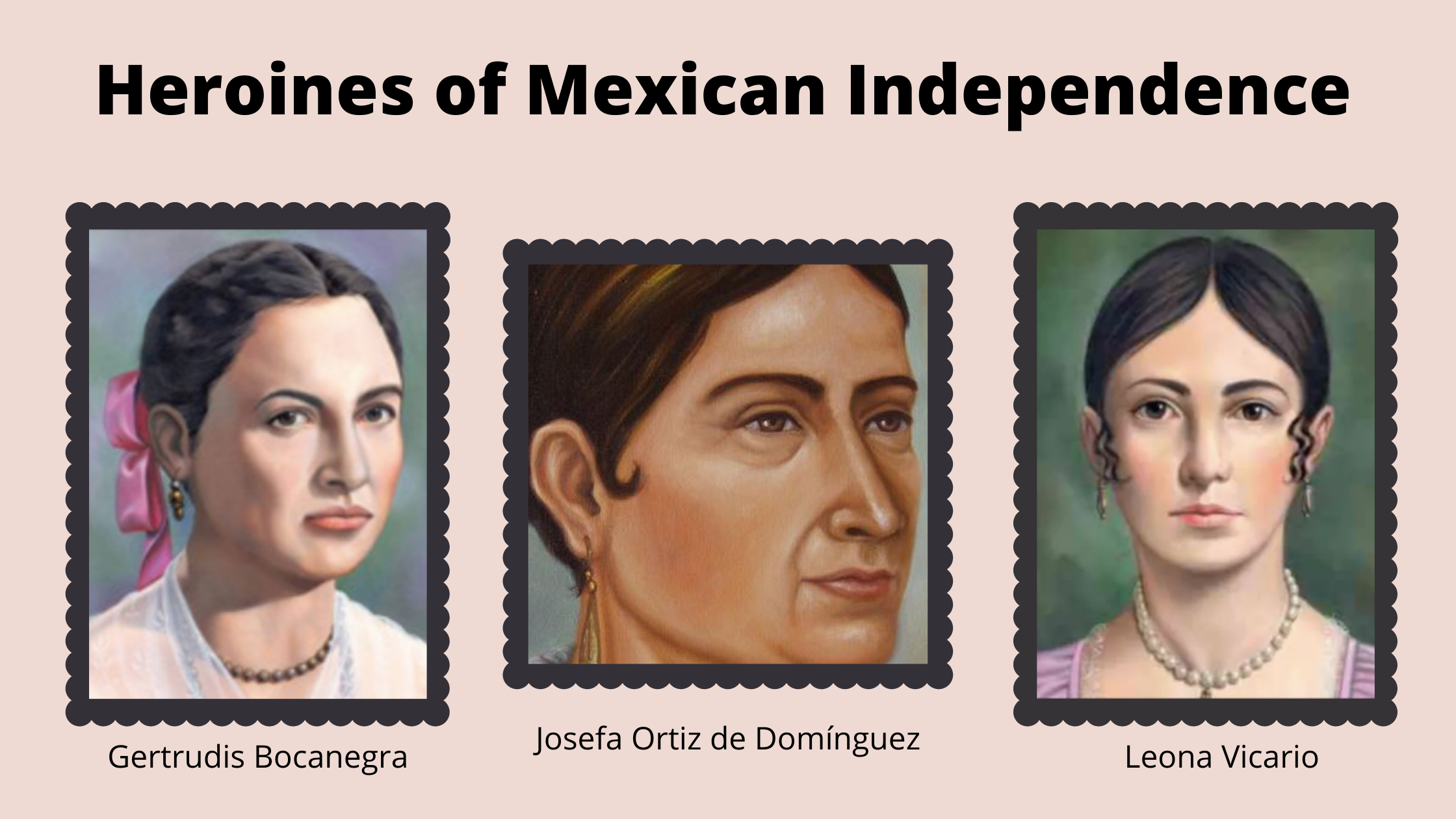 The Women of Mexican Independence
