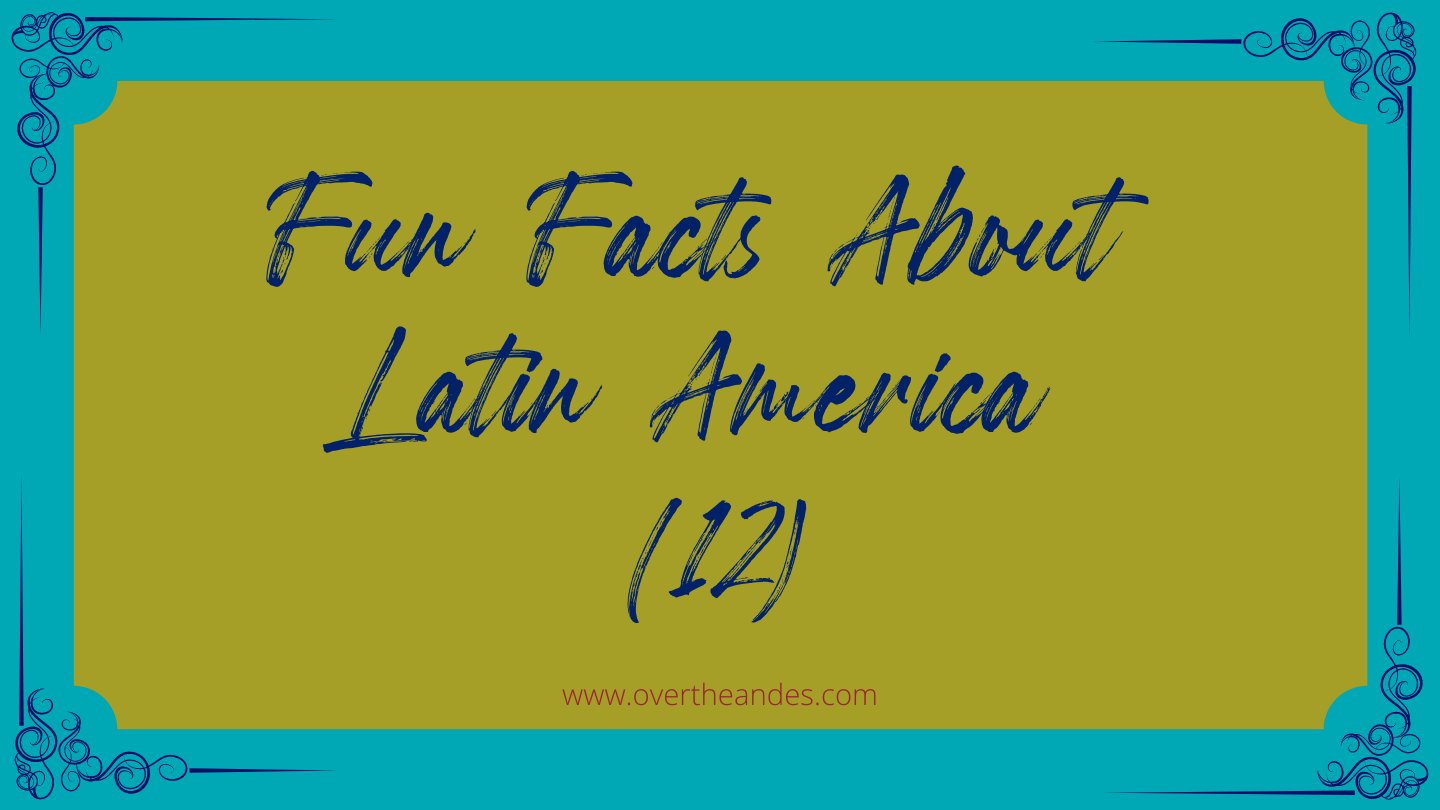 Where can you find the world's tallest waterfall? | Fun Facts About Latin America (12)