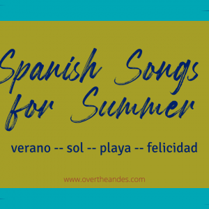 Spanish songs about summer