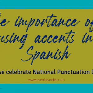 The importance of using accents in Spanish